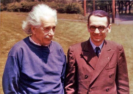 پروفسور حسابی در کنار انیشتین