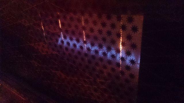 حداقل شعله بخاری گازی